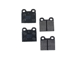 D101P Pagid Brake Pad Set; Rear