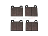D112A ATE Brake Pad Set; Front