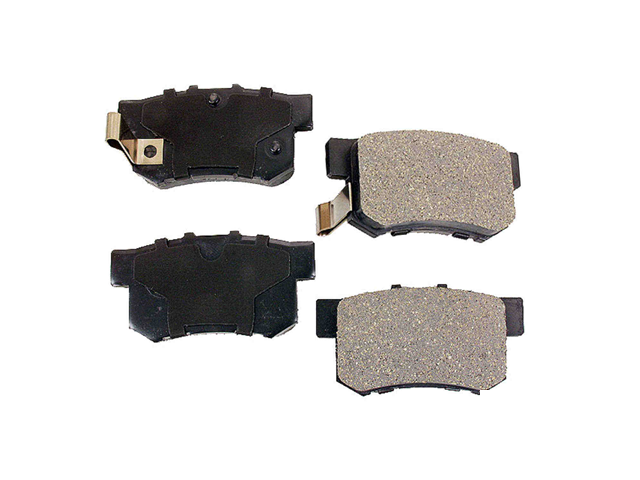 D1142AD Advics Brake Pad Set; Rear