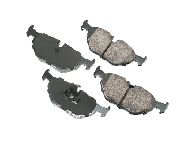 D1239EUR Akebono Euro Brake Pad Set; Rear