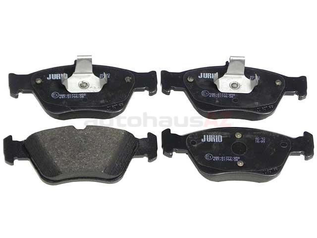 D1330J Jurid Brake Pad Set; Front