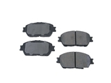 D1519AD Advics Brake Pad Set; Front, OE Compound