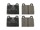D195A ATE Brake Pad Set