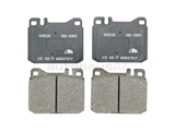 D254A ATE Brake Pad Set; Front