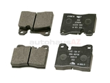 D292A ATE Brake Pad Set