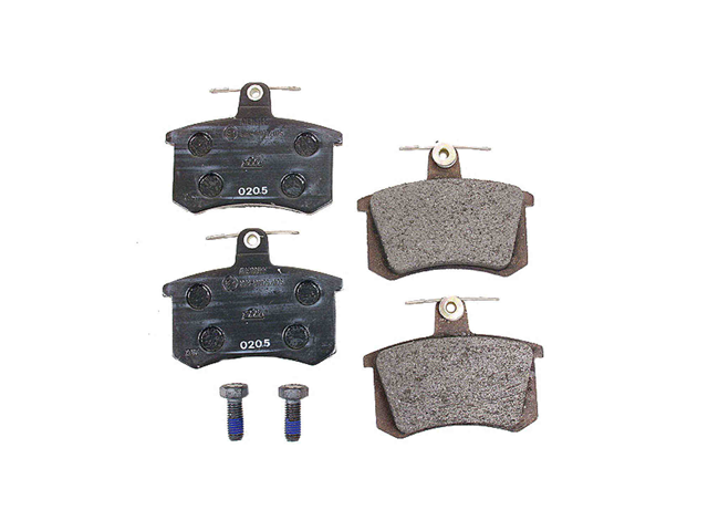 D363A ATE Brake Pad Set; Rear