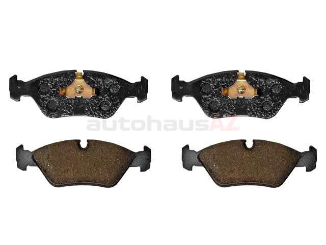 D501P Hella Pagid Brake Pad Set; Front; OE Compound