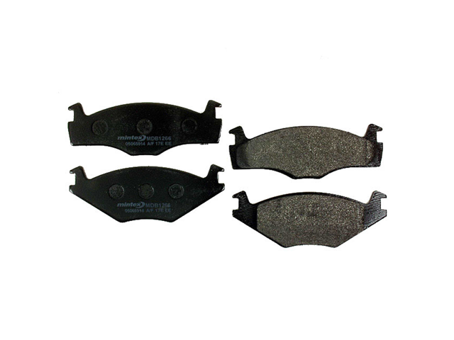 MDB1868 NEW MINTEX FRONT DISC BRAKE PADS SET