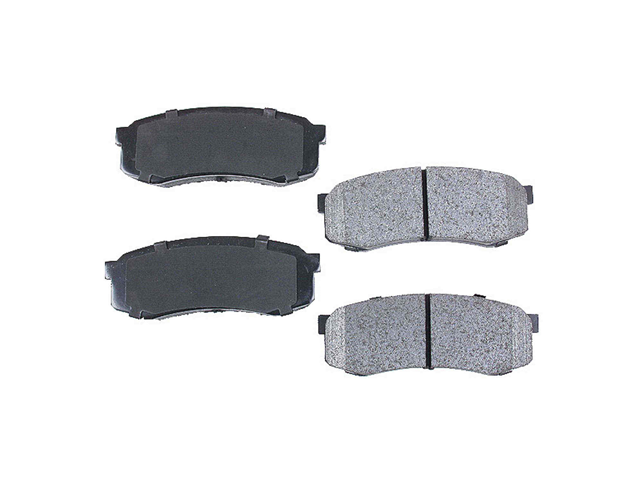 D606AD Advics Brake Pad Set; Rear