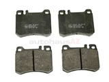 D671A ATE Brake Pad Set; Front