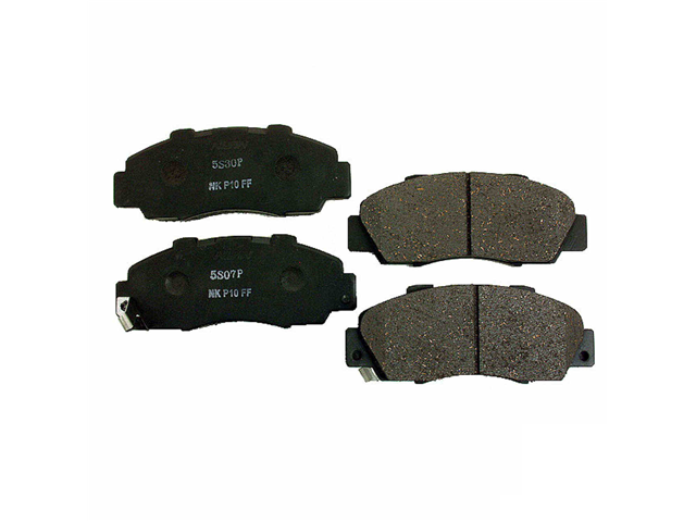 D707N Nissin Brake Pad Set; Front