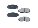 D787SM Meyle Semi Metallic Brake Pad Set; Front
