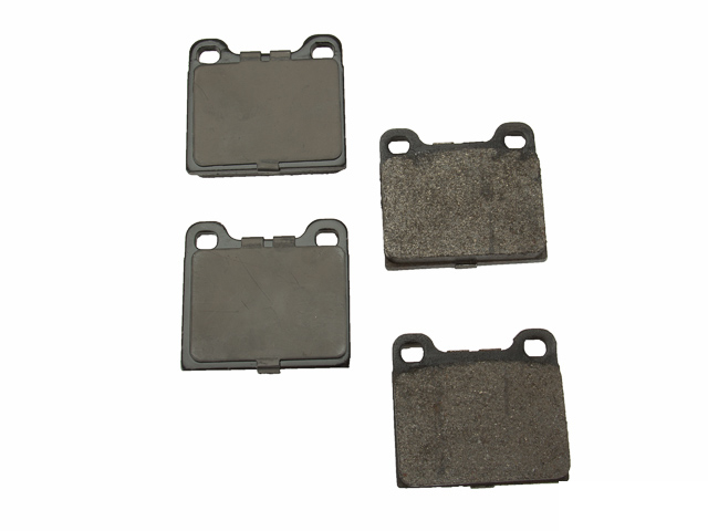 D8031OSM OPparts Semi Met Brake Pad Set