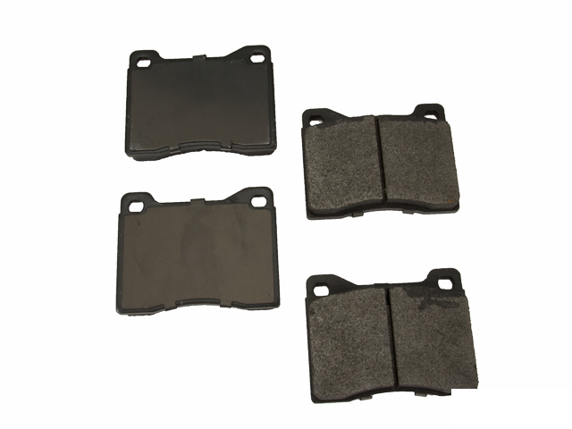 D8082OSM OP Parts Semi Met Brake Pad Set; Front