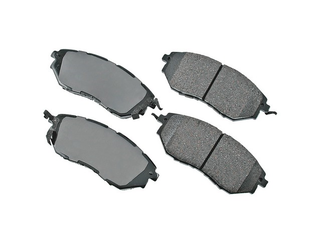 D81078ACT Akebono ProACT Brake Pad Set; Front