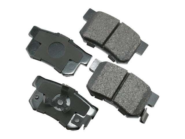 D81086ACT Akebono ProACT Brake Pad Set; Rear