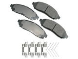 D81094ACT Akebono ProACT Disc Brake Pad
