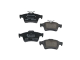 D81095T Textar Brake Pad Set; Rear