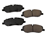 D81098ACT Akebono ProACT Disc Brake Pad