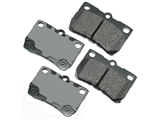 D81113ACT Akebono ProACT Disc Brake Pad