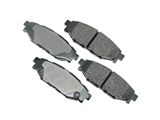 D81114ACT Akebono ProACT Disc Brake Pad