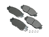 D81178ACT Akebono ProACT Disc Brake Pad
