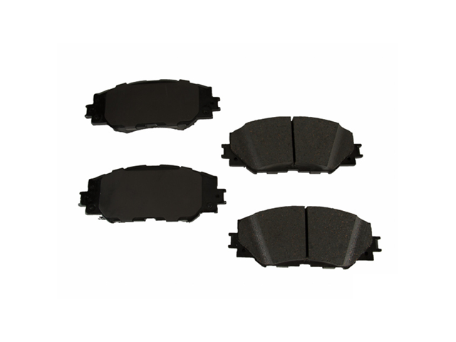 D81210AD Advics Brake Pad Set; Front