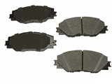 D81211AD Advics Brake Pad Set; Front