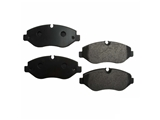 D81316OSM OPparts Semi Met Disc Brake Pad