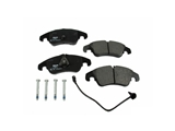 D81322P Pagid Brake Pad Set; Front