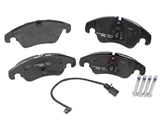 D81322T Textar Brake Pad Set; Front with Sensor