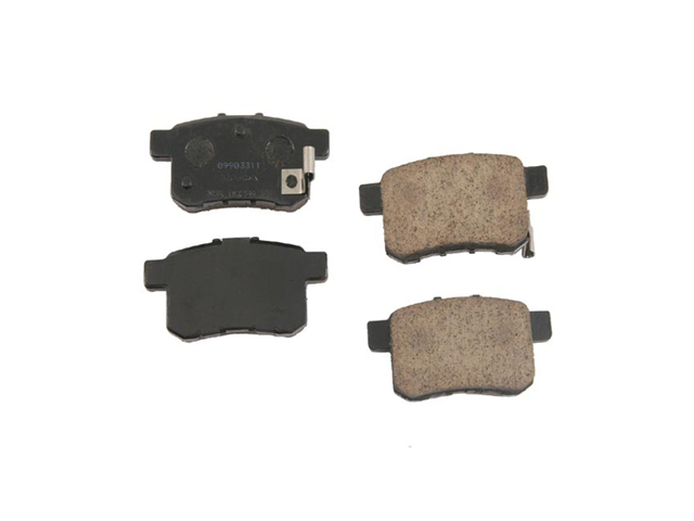 D81336OE Genuine Honda Brake Pad Set; Rear