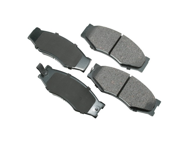 D8266ACT Akebono ProACT Brake Pad Set; Front