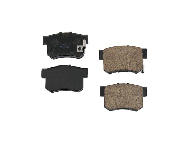 43022-S84-A51 Genuine Brake Pad Set; Rear
