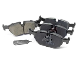 D8396EUR Akebono Euro Brake Pad Set; Rear