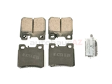 D8495EUR Akebono Euro Brake Pad Set; Rear