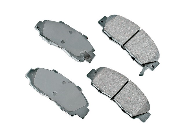 D8503ACT Akebono ProACT Brake Pad Set; Front