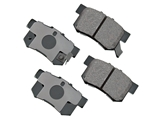 D8536ACT Akebono ProACT Brake Pad Set; Rear