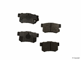 D8537SM Meyle Semi Metallic Disc Brake Pad