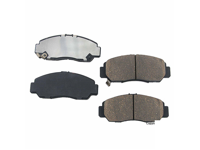 D8787OE Genuine Brake Pad Set; Front