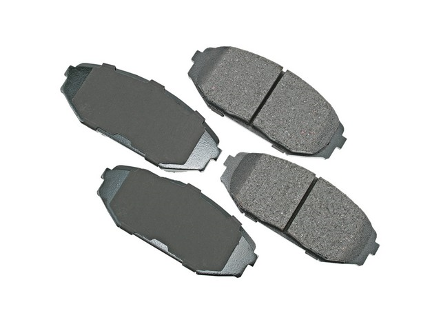 D8793ACT Akebono ProACT Brake Pad Set; Front
