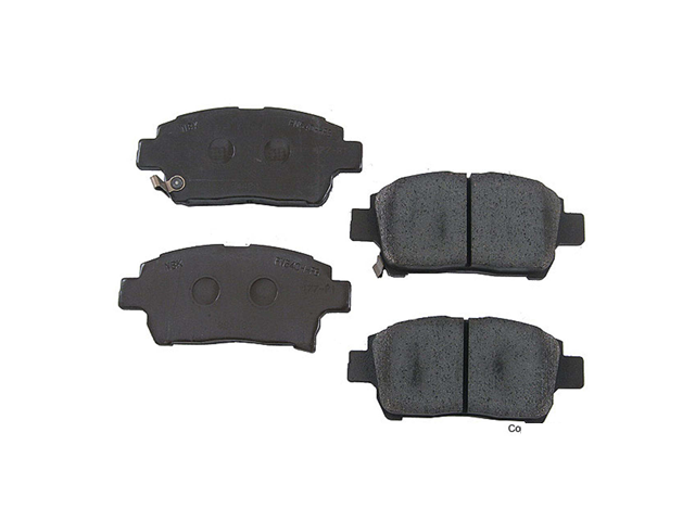 D8822 Genuine Toyota Brake Pad Set