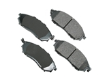 D8888ACT Akebono ProACT Disc Brake Pad