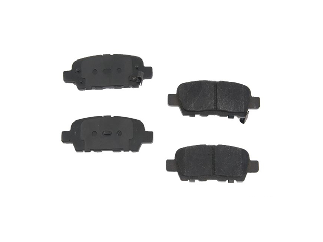 D8905OSM OPparts Semi Met Brake Pad Set; Rear