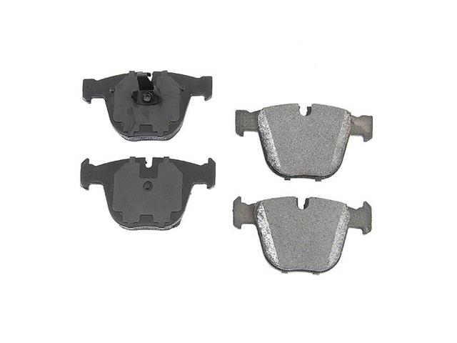 For BMW E60 E63 E65 E66 OPparts Ceramic Rear Disc Brake Pad Set NEW 34216768471