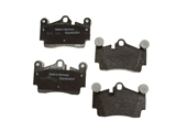 D8978OE Genuine Brake Pad Set; Rear