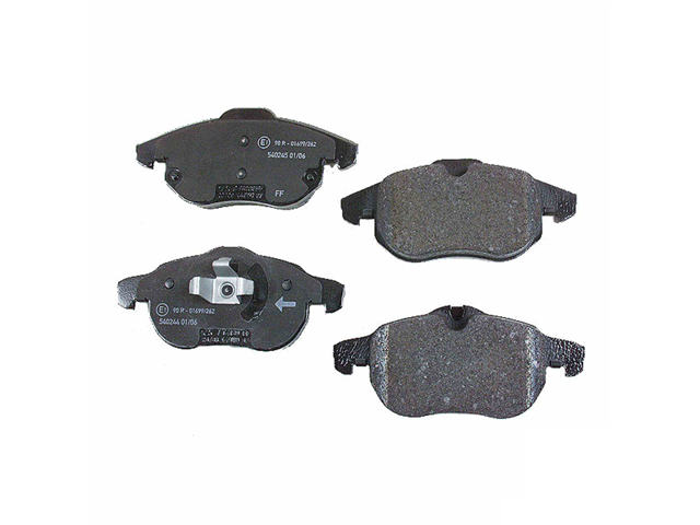 D972P Pagid Brake Pad Set; Front
