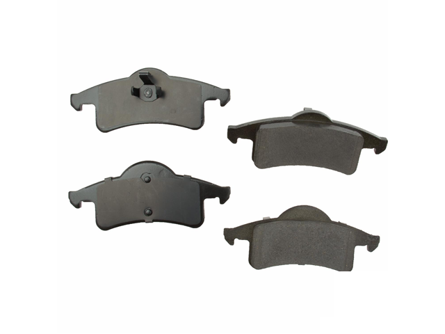 D9791OC OPparts Ceramic Brake Pad Set; Rear