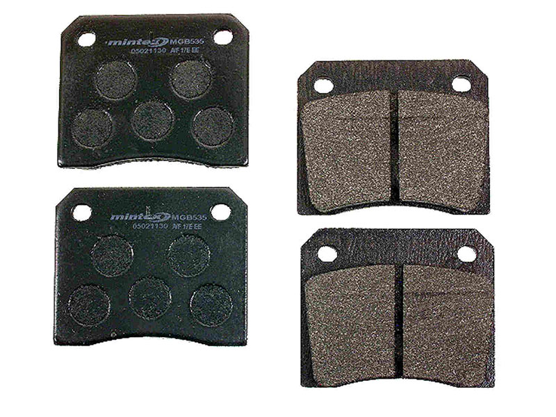 D97MTX Mintex Brake Pad Set; Rear