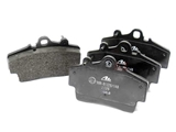 D986A ATE Brake Pad Set; Front